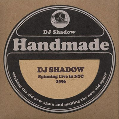 DJ Shadow – Spinning Live In NYC, 1996 (2009) (CD) (FLAC + 320 kbps)