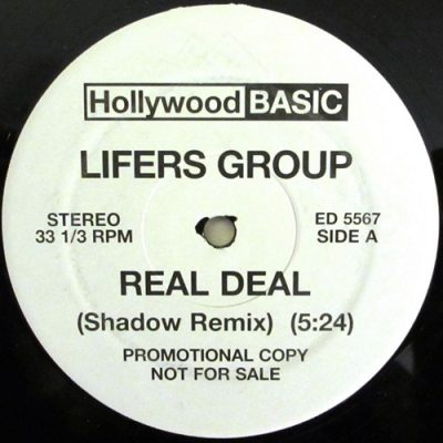 Lifers Group / DJ Shadow – Real Deal (Shadow Remix) / Lesson 4 (1991) (VLS) (FLAC + 320 kbps)
