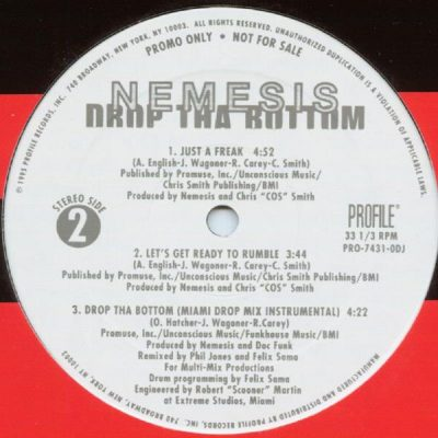 Nemesis – Drop Tha Bottom (VLS) (1995) (FLAC + 320 kbps)