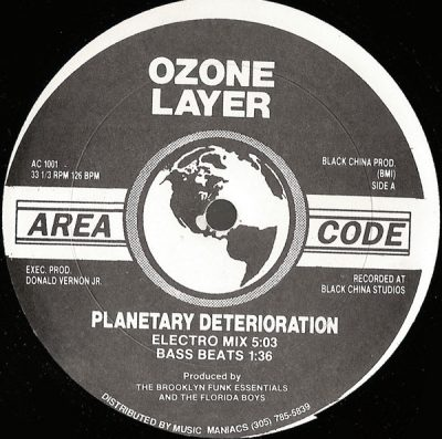 Ozone Layer – Planetary Deterioration (1989) (VLS) (FLAC + 320 kbps)