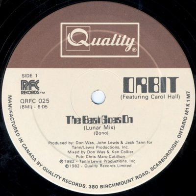 Orbit – The Beat Goes On (1982) (VLS) (FLAC + 320 kbps)