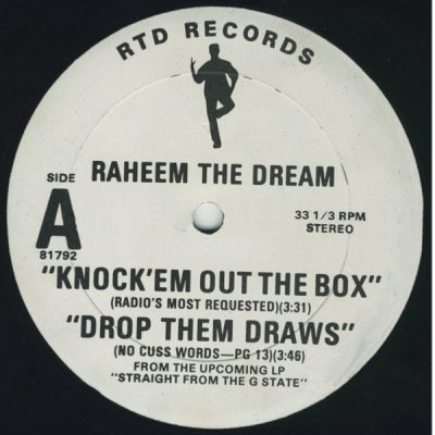 Raheem The Dream – Knock 'Em Out The Box (VLS) (1992) (FLAC + 320 kbps)