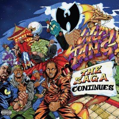 Wu-Tang Clan – The Saga Continues (CD) (2017) (FLAC + 320 kbps)