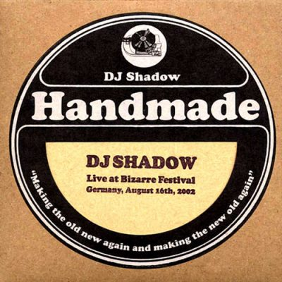 DJ Shadow – Live At Bizarre Festival (Germany, August 16th, 2002) (2009) (CD) (FLAC + 320 kbps)
