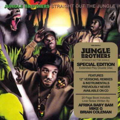 Jungle Brothers – Straight Out The Jungle (Special Edition) (1988-2010) (2xCD) (FLAC + 320 kbps)