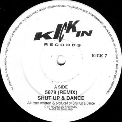 Shut Up And Dance – 5678 (Remix 1991) (1989-1991) (VLS) (FLAC + 320 kbps)