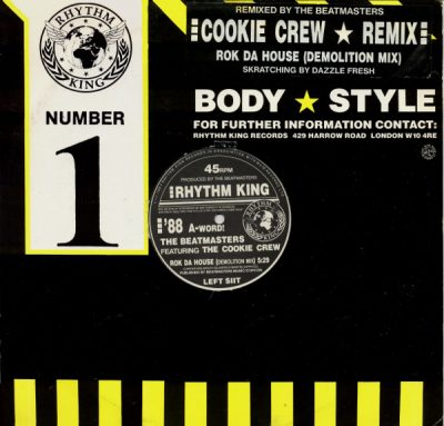 The Beatmasters & Cookie Crew – Rok Da House (Remix) (1988) (VLS) (FLAC + 320 kbps)
