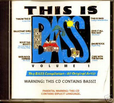 Various – This Is Bass (Volume 1) (1989) (CD) (FLAC + 320 kbps)