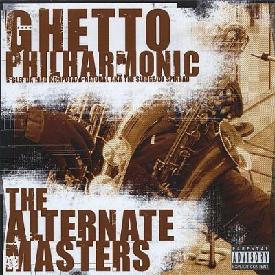 Ghetto Philharmonic – The Alternate Masters (CD) (2004) (FLAC + 320 kbps)