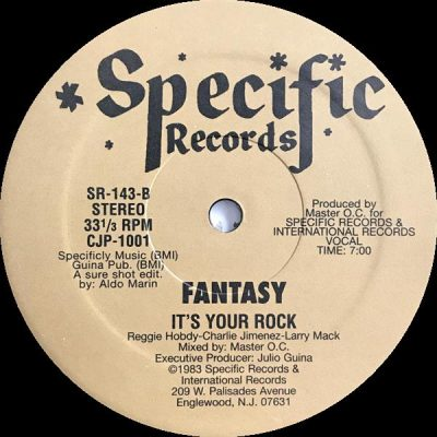 Fantasy Three – It's Your Rock (1983) (VLS) (FLAC + 320 kbps)