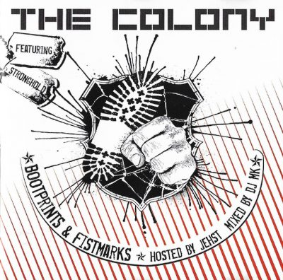 The Colony Featuring Stronghold – Bootprints & Fistmarks (2006) (CD) (FLAC + 320 kbps)