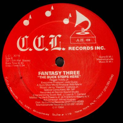 Fantasy Three – Summer / The Buck Stops Here (1984) (VLS) (FLAC + 320 kbps)