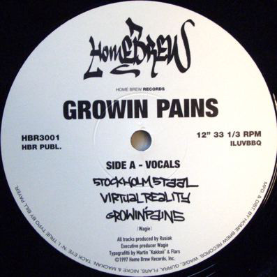 Growin Pains – Stockholm Staal (VLS) (1997) (FLAC + 320 kbps)