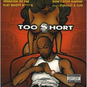 Too Short – Invasion Of The Flat Booty Bitches (CDS) (1998) (320 kbps)