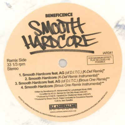 Beneficence – Smooth Hardcore (VLS) (2017) (FLAC + 320 kbps)