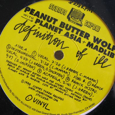 Peanut Butter Wolf – Definition Of Ill (VLS) (1999) (FLAC + 320 kbps)