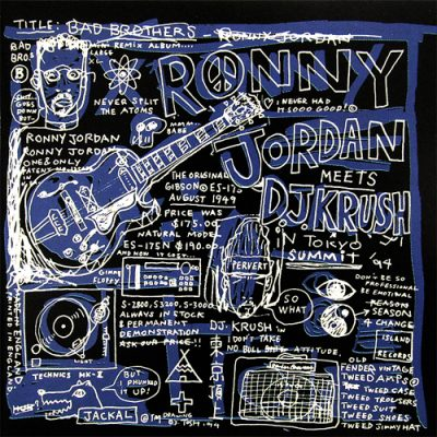 Ronny Jordan & DJ Krush – Bad Brothers (1994) (CD) (FLAC + 320 kbps)