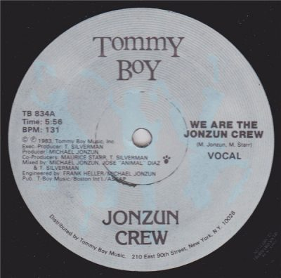 Jonzun Crew – We Are The Jonzun Crew (VLS) (1983) (FLAC + 320 kbps)