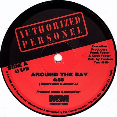 Authorized Personel – Around The Bay / Do You Wanna Get Off (VLS) (1988) (FLAC + 320 kbps)