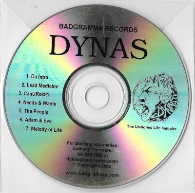Dynas – The Unsigned Life Sampler (2003) (CD) (FLAC + 320 kbps)
