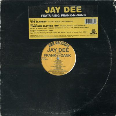 Jay Dee – Off Ya Chest (VLS) (2002) (FLAC + 320 kbps)