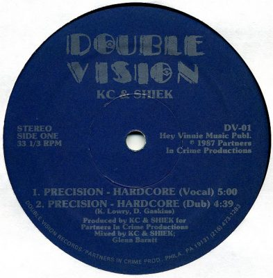 KC & Shiek – Precision – Hardcore (VLS) (1987) (FLAC + 320 kbps)