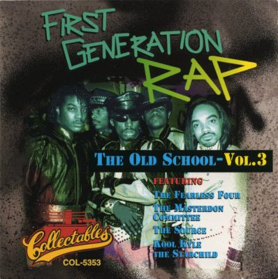 VA – First Generation Rap: The Old School – Vol. 3 (1994) (CD) (FLAC + 320 kbps)