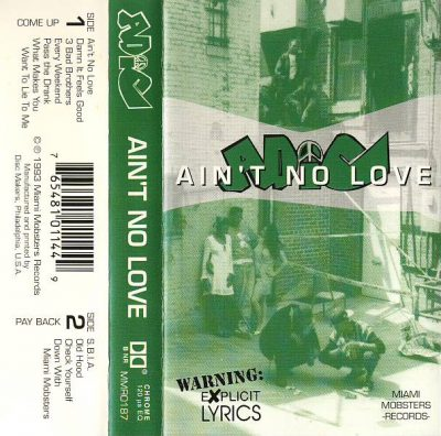 Always Def In Competition – Ain't No Love (The Album) (Cassette) (1993) (320 kbps)