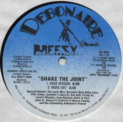 Breezy Beat MC – Shake The Joint (VLS) (1988) (FLAC + 320 kbps)