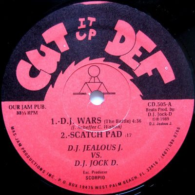 DJ Jealous J – Cut It Up Def (VLS) (1989) (FLAC + 320 kbps)