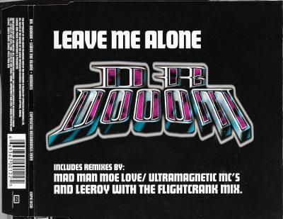 Dr. Dooom – Leave Me Alone + Remixes (1999) (CDM) (FLAC + 320 kbps)