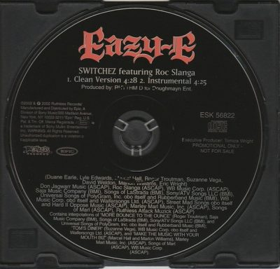 Eazy-E – Switchez (Promo CDS) (2002) (FLAC + 320 kbps)