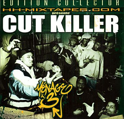 Cut Killer ‎- Mixtape N°17: Ménage A 3 (CD) (2005) (FLAC + 320 kbps)