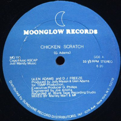 Glen Adams and D.J. Freeze – Chicken Scratch (1983) (VLS) (FLAC + 320 kbps)
