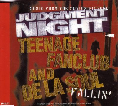 Teenage Fanclub & De La Soul – Fallin' (CDS) (1994) (FLAC + 320 kbps)
