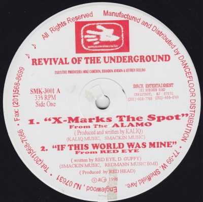 VA – Revival Of The Underground (VLS) (1998) (FLAC + 320 kbps)