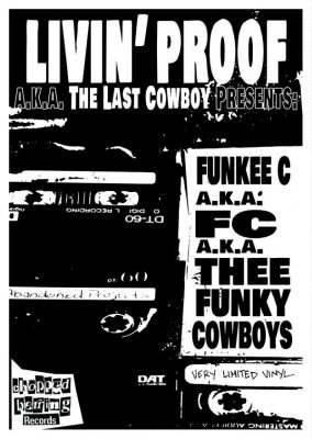 Livin' Proof – Thee Funky Cowboys EP (Vinyl) (2018) (FLAC + 320 kbps)