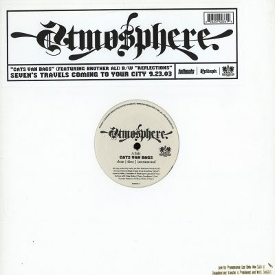 Atmosphere – Cats Van Bags / Reflections (VLS) (2003) (FLAC +320 kbps)