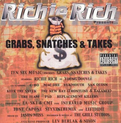 Richie Rich Presents – Grab's, Snatche's & Take's (WEB) (2004) (FLAC + 320 kbps)