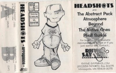 Headshots – Arrogance: Vol. 2 (Cassette) (1996) (320 kbps)