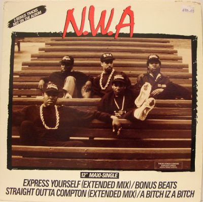 N.W.A – Express Yourself (VLS) (1988) (FLAC + 320 kbps)