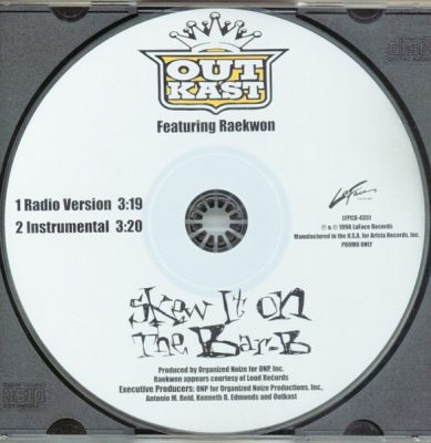 OutKast – Skew It On The Bar-B (Promo CDS) (1998) (FLAC + 320 kbps)