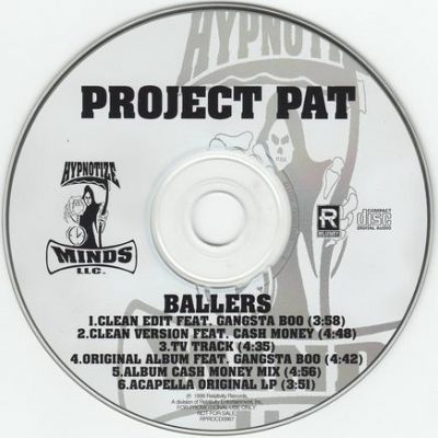 Project Pat – Ballers (Promo CDS) (1999) (FLAC + 320 kbps)