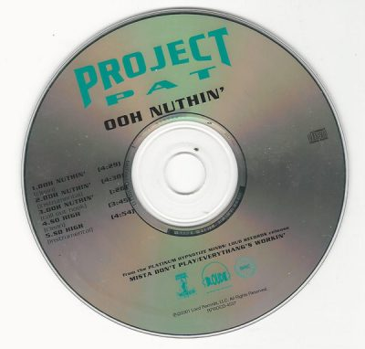 Project Pat – Ooh Nuthin' / So High (Promo CDS) (2001) (FLAC + 320 kbps)
