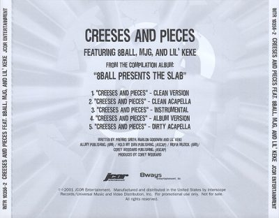 8Ball – Creeses And Pieces (Promo CDS) (2001) (FLAC + 320 kbps)
