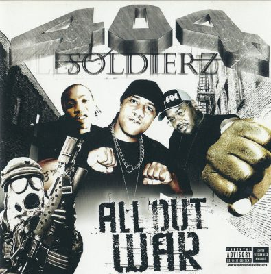 404 Soldierz – All Out War (CD) (2004) (FLAC + 320 kbps)