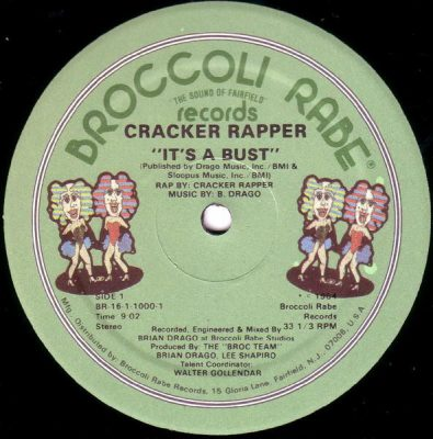Cracker Rapper – It's A Bust (VLS) (1984) (FLAC + 320 kbps)
