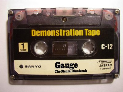 Gauge The Mental Murderah – Demonstration Tape (1995) (320 kbps)