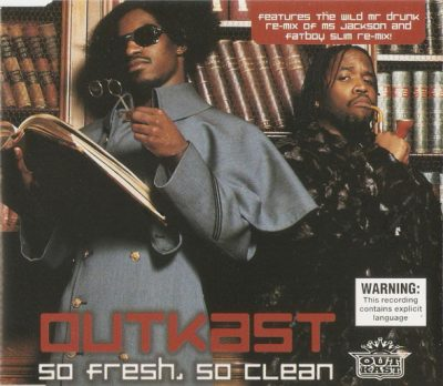 OutKast – So Fresh, So Clean (AU CDS) (2001) (FLAC + 320 kbps)