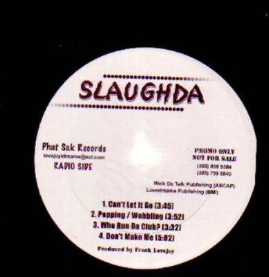 Slaughda – Can't Let It Go EP (VLS) (2013) (FLAC + 320 kbps)
